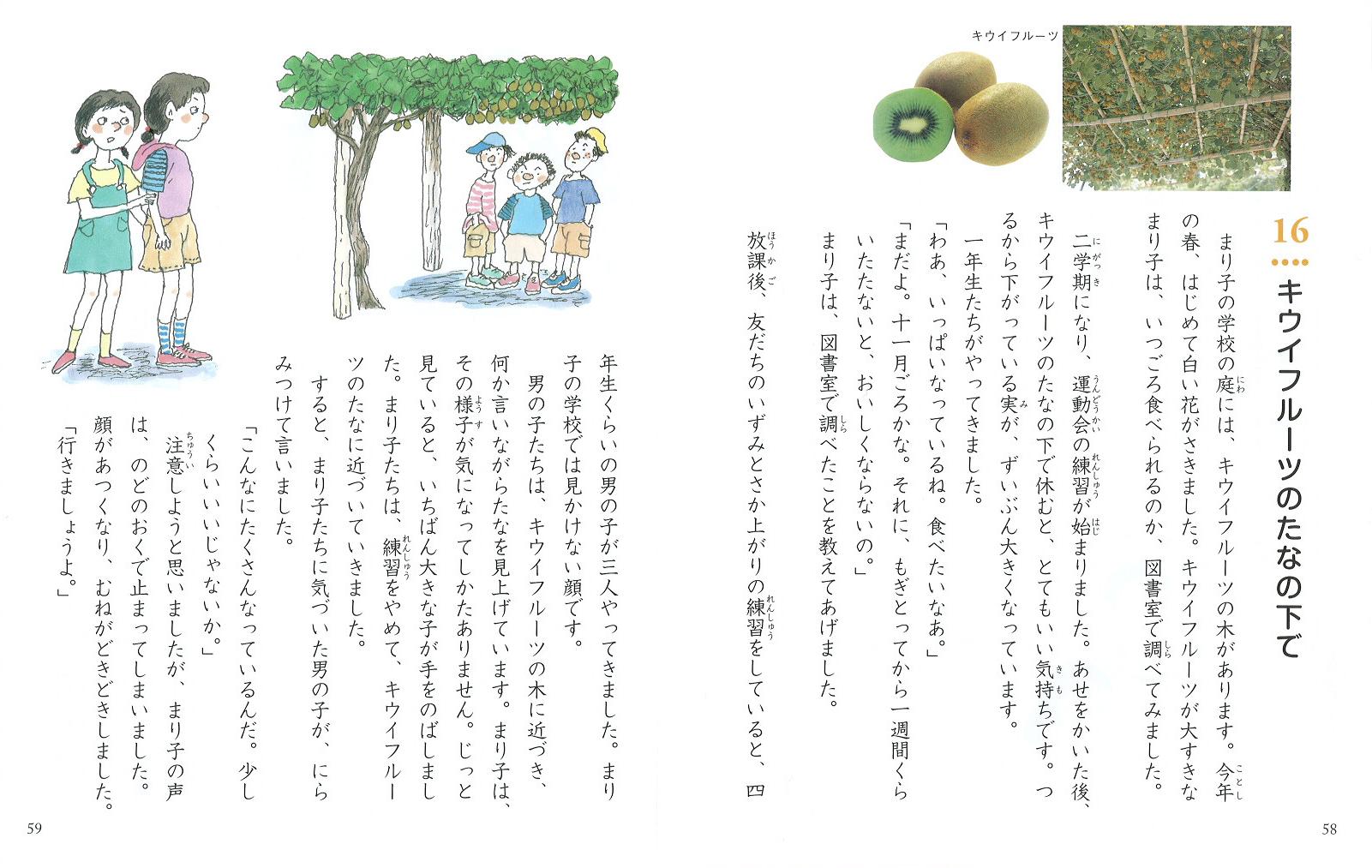 年 「キウイフルーツのたなの ... : 夏休み 子供自由研究 : 夏休み